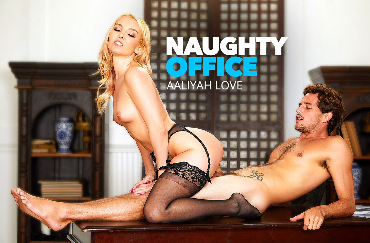Watch Aaliyah Love and Tyler Nixon 4K video in Naughty Office