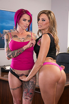 Anna Bell Peaks starring in Co-workerporn videos with 69 and American