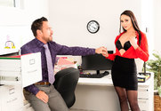 Ariana Marie & Johnny Castle in Naughty Office