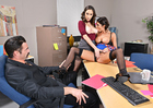 Ashley Adams & August Ames - Sex Position 1