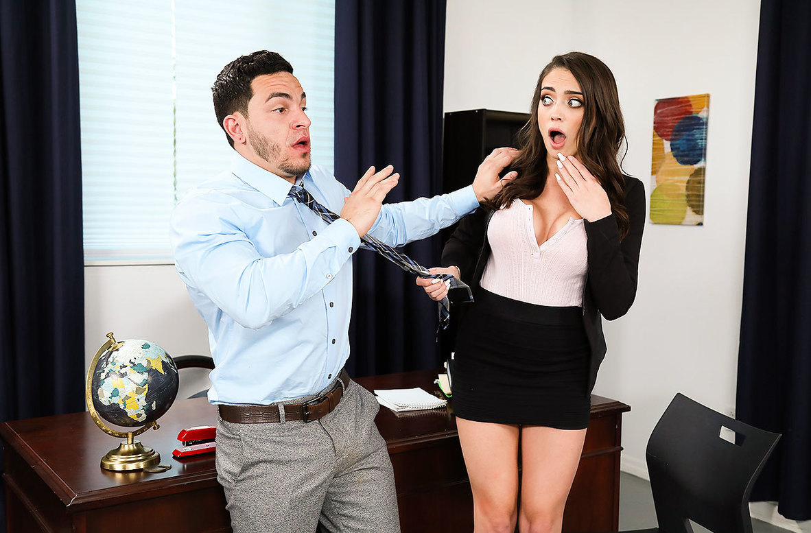 Watch Ashly Anderson and Peter Green 4K video in Naughty Office