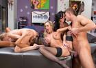 Brandi Love & Lexi Belle & Madison Ivy & Veronica Avluv - Blowjob