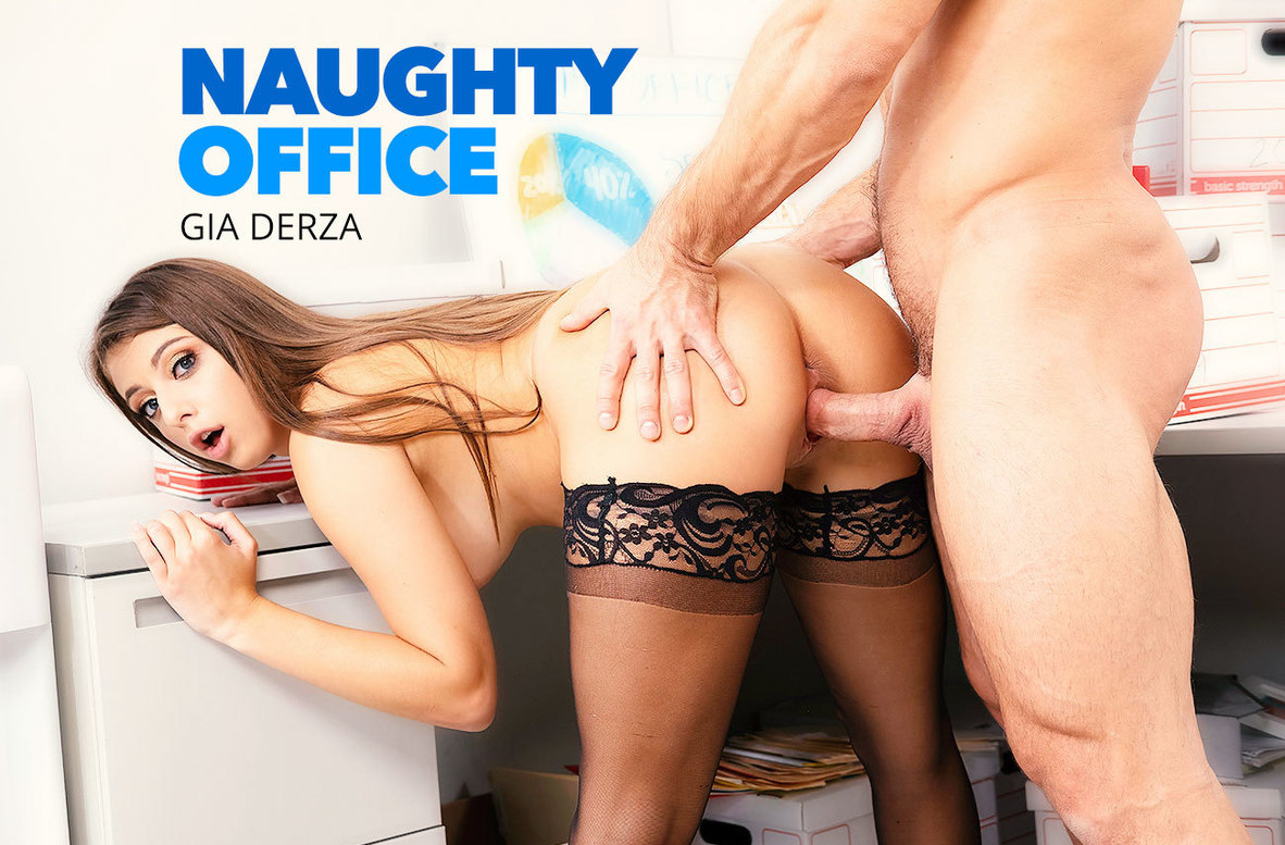 Watch Gia Derza and Johnny Castle 4K video in Naughty Office
