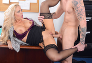Holly Heart & Richie Black in Naughty Office