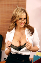 Julia Ann starring in Bossporn videos with Big Fake Tits and Blonde