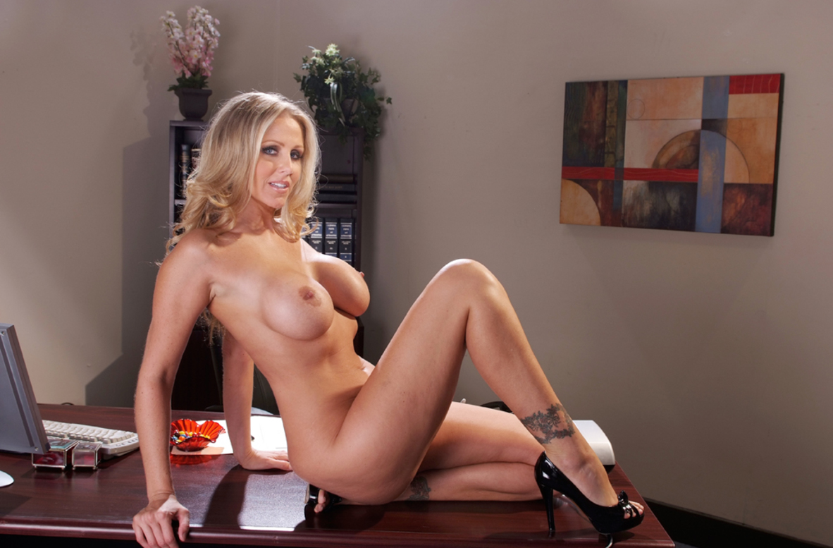 Watch Julia Ann and Prince Yahshua video in Naughty Office