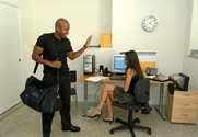 Kelli Tyler & Billy Blanks in Naughty Office