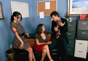 Rachel Starr & Micah Moore & Kurt Lockwood in Naughty Office