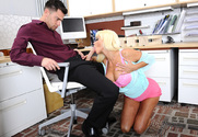 Nikita Von James & Seth Gamble in Naughty Office