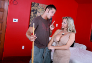 Amber Bach & Danny Mountain in Seduced By A Cougar