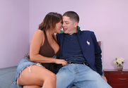 Ava Devine & Alex Gonz in Seduced By A Cougar