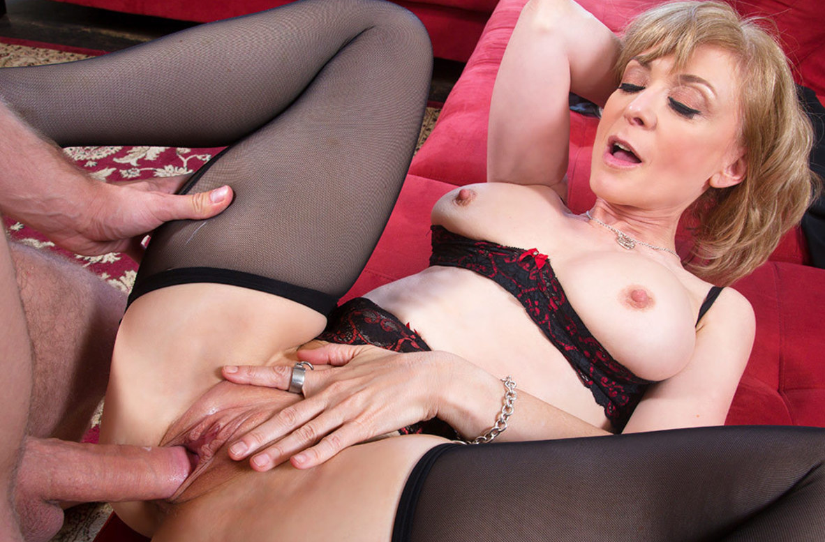Watch Nina Hartley and Danny Wylde video in Seduced By A Cougar